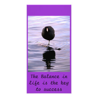 The Balance in life is th... Photo Card