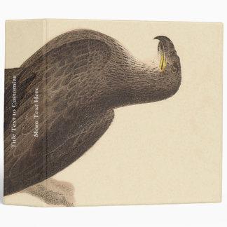 The Bald Eagle (Haliaetos leucocephalus) 3 Ring Binder