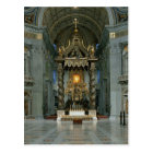 The Baldacchino, the high altar and the chair Postcard