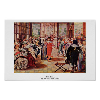 The Ball By Bosse Abraham Print