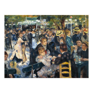 The Ball, by Pierre-Auguste Renoir Poster