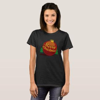 The Ball of Christmas Black Version (W) T-Shirt