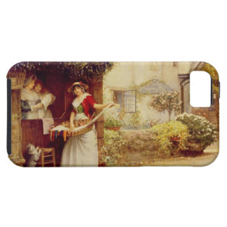 The Ballad Seller, 1902 (oil on board) iPhone 5 Covers