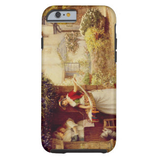 The Ballad Seller, 1902 (oil on board) Tough iPhone 6 Case