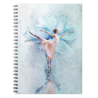 The Ballerina Spiral Note Book