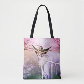 """The Ballerina"" Tote Bag"