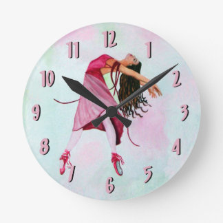 The Ballet Clock ~ Pink