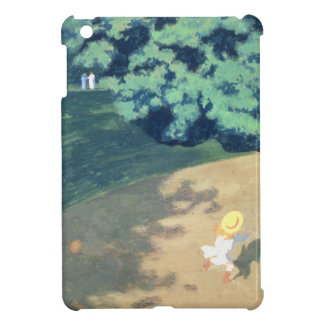 The Balloon or Corner of a Park with a Child Cover For The iPad Mini