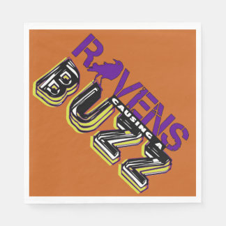 The Baltimore Buzz Party Supplies Paper Napkin
