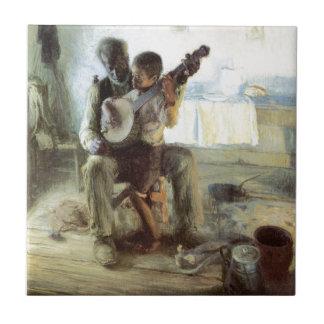 The Banjo Lesson Tile
