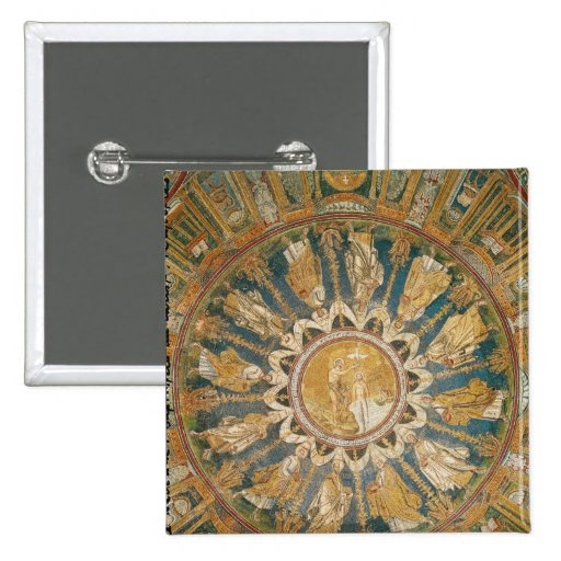 The Baptism of Christ 2 Pinback Button