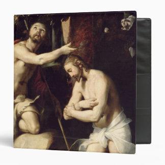 The Baptism of Christ 3 Ring Binder