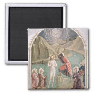 The Baptism of Christ, c.1438-45 (fresco) Magnet