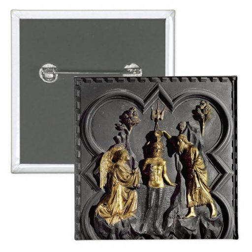 The Baptism of Christ, panel Buttons