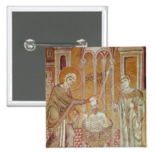 The Baptism of St. Paul By Ananias Buttons