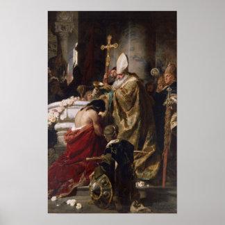 The Baptism of Vajk Print