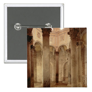 The Baptistery 2 Inch Square Button