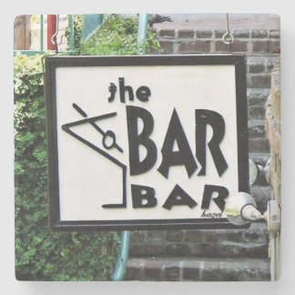 The Bar Bar, Savannah Marble Coasters Stone Beverage Coaster