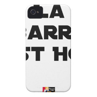 The BAR HOT EAST - Word games - François City Case-Mate iPhone 4 Case