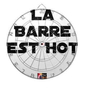The BAR HOT EAST - Word games - François City Dartboard