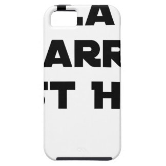 The BAR HOT EAST - Word games - François City iPhone 5 Cover