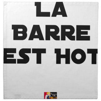 The BAR HOT EAST - Word games - François City Napkin