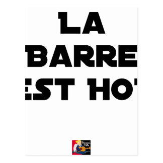 The BAR HOT EAST - Word games - François City Postcard