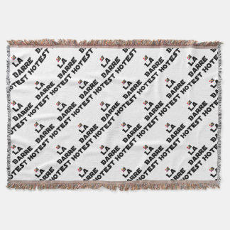 The BAR HOT EAST - Word games - François City Throw Blanket