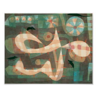 The Barbed Noose with the Mice : Paul Klee 1923 Poster