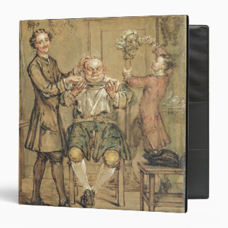 The Barber, c.1760-69 (oil on canvas) Binders