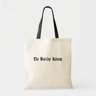 The Barclay Review Tote