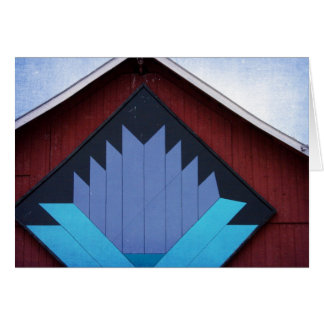 The Barn Quilt, Birthday Card
