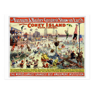 The Barnum and Bailey Greatest Show on Earth Postcard
