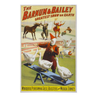 The Barnum & Bailey Circus Poster