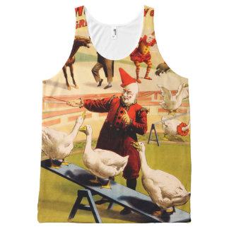 The Barnum & Bailey Greatest Show on Earth All-Over-Print Tank Top