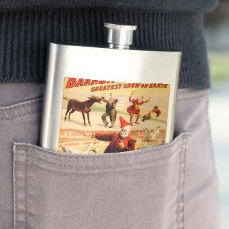 The Barnum & Bailey Greatest Show on Earth Flask