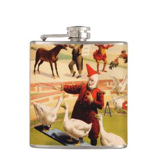 The Barnum & Bailey Greatest Show on Earth Hip Flask