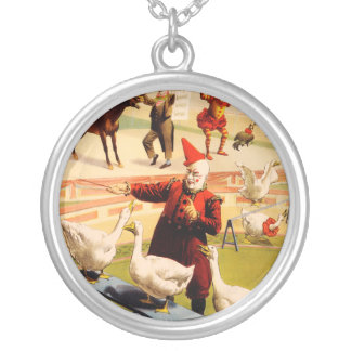 The Barnum & Bailey Greatest Show on Earth Silver Plated Necklace