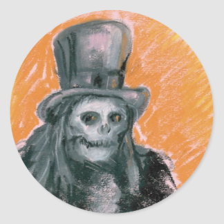 The Baron Halloween Sticker