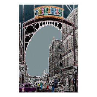 The Barras Glasgow Poster Print