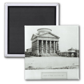 The Barriere de l'Etoile, Paris, 1858-78 Square Magnet