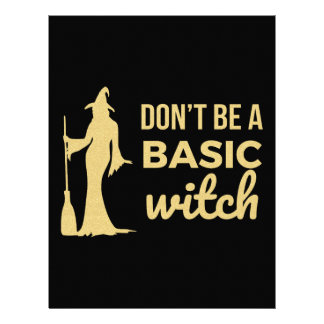 The Basic Witch Letterhead