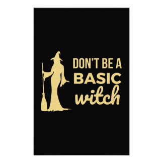 The Basic Witch Stationery