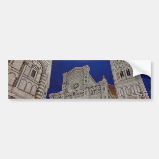 The Basilica di Santa Maria del Fiore in Florence, Bumper Sticker