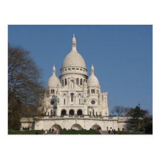 The Basilica of the Sacred Heart of Paris Postcard
