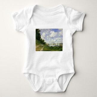The Basin at Argenteuil - Claude Monet Baby Bodysuit