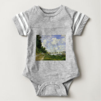 The Basin at Argenteuil - Claude Monet Baby Bodysuit
