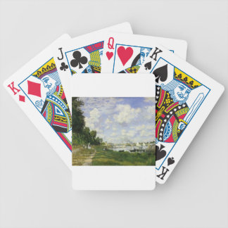 The Basin at Argenteuil - Claude Monet Bicycle Playing Cards