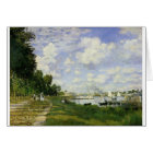 The Basin at Argenteuil - Claude Monet Card
