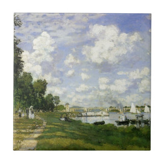 The Basin at Argenteuil - Claude Monet Ceramic Tile
